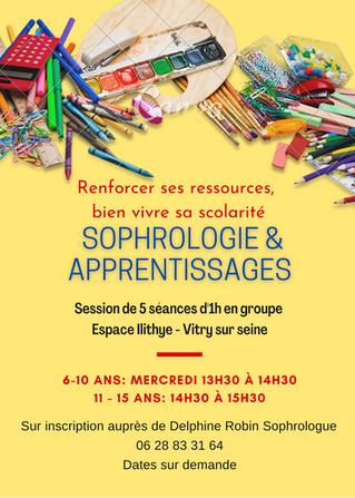 Sophrologie & apprentissages