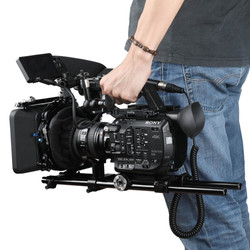 Sony-FS5 with rig