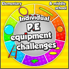 pe games challenges physical education school sport teaching lessons ideas elementary