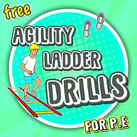 agiity ladder spot pe physical education teaching lesson plans elementary school basketball soccer tennis