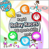 relay races sports pack, Pe sports skills, Prime coaching sport