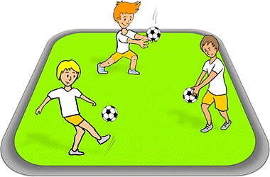 PE skill stations, kicking stations, soccer lessons, lesson plans, PE games and ideas