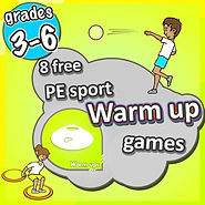 Prime Coaching sport PE sport warm up games, grades 3-6 ideas, sports teaching warm ups, warm up ideas for kids, fun warm ups, free warm ups,