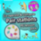 Pair stations, Prime coaching PE lesson plan pack, pe physcial education grade 1 kindergarten sport teaching lesson plans how to