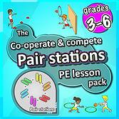 Prime coaching sport, pair station PE lesson plans, pe physcial education grade 1 kindergarten sport teaching lesson plans how to