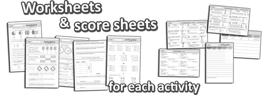 pe math worksheets sport lesson plans games physical education common core grade 3
