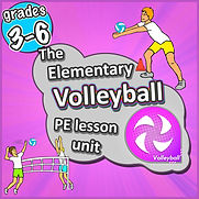 volleyball, ball skills basics pe games sport teaching kids lessons activities ideas elementary, prime coaching sport