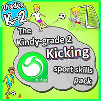 Prime coaching sport, kindy kicking sports skills pack, pe physcial education grade 1 kindergarten sport teaching lesson plans how to