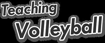 teaching volleyball activities lessons kids class pe sport school