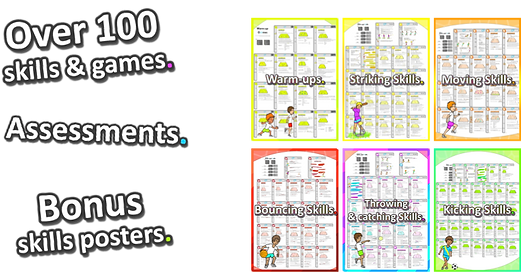 teaching ideas, sports, elementary fitness, exercise, teaching resources