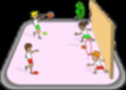 Throw through the hoop, pe physcial education grade 1 kindergarten sport teaching lesson plans how to