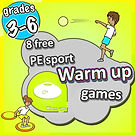 elementary pe physcial education tag games kids lesson plans teaching