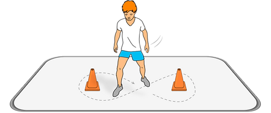 agility speed kids games fn pe sport lesson plans