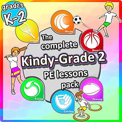 pe physcial education grade 1 kindergarten sport teaching lesson plans how to