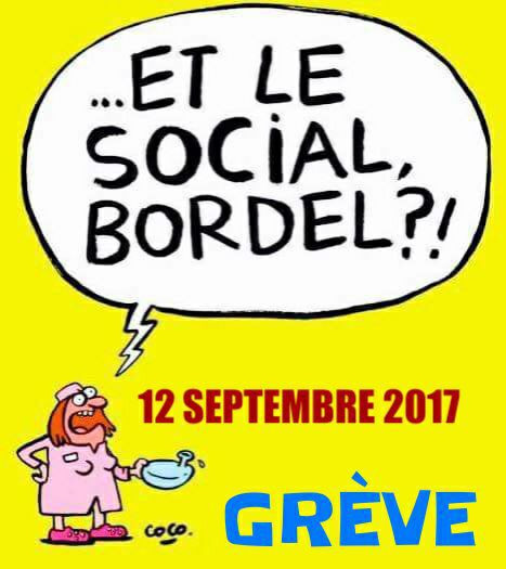 APPEL CGT CARREFOUR HYPERS MOBILISATION 12 SEPTEMBRE 2017