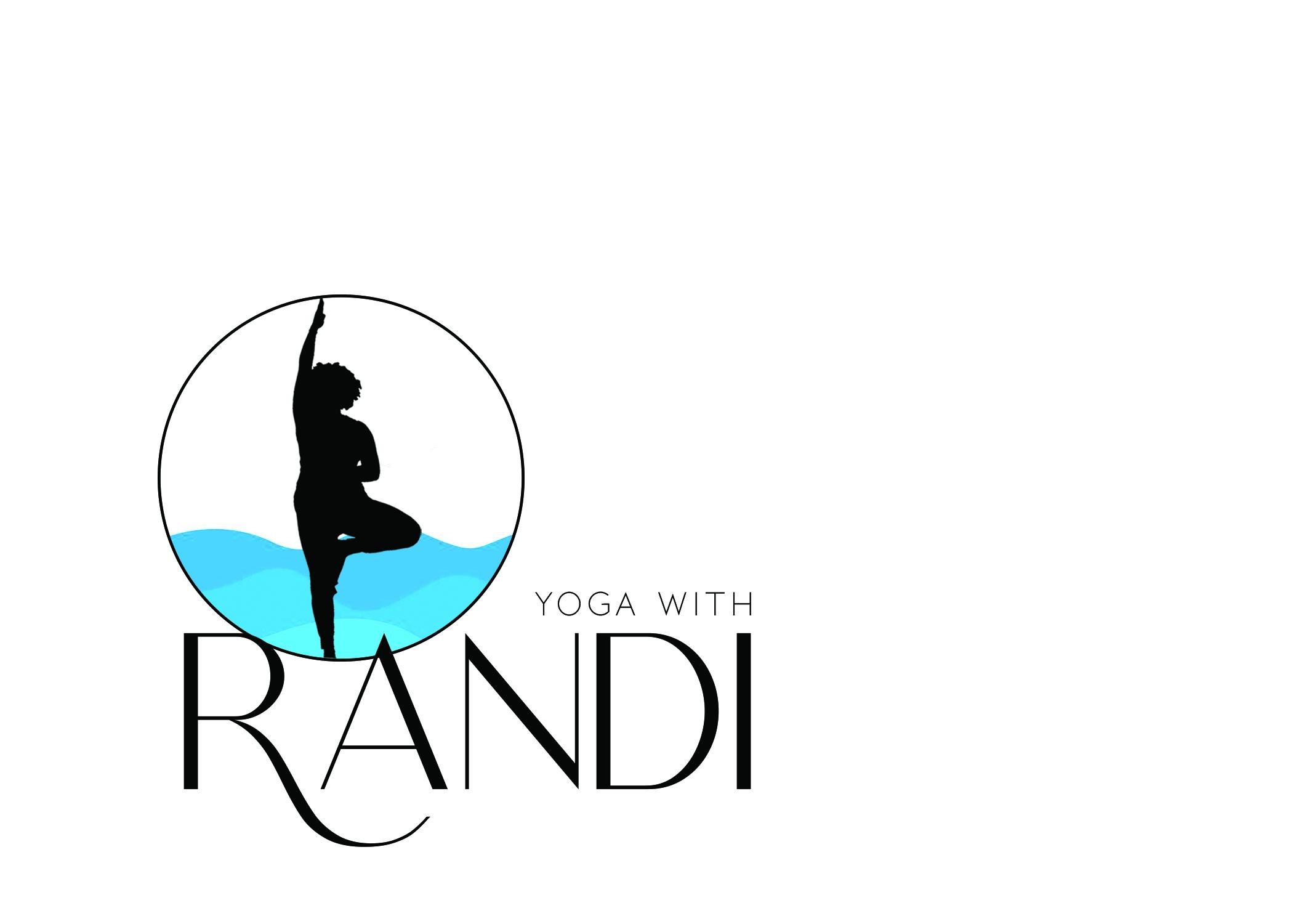 Randi's logo blue waves