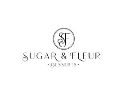 Sugar and Fleur updated logo white backg