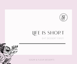 SUGAR AND FLEUR QUOTES