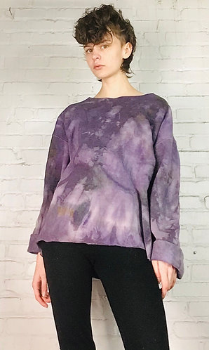 XLarge Boxy Deconstructed Sweatshirt