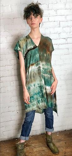 One size (Fits 0-10) Lightweight Jersey Knit Serape