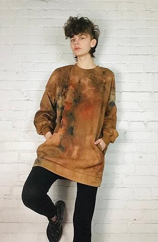 Medium Oversized Tunic Sweatshirt w/pockets