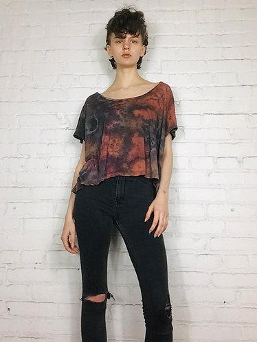 Cropped Boxy Lightweight T-shirt (Fits:2-8)