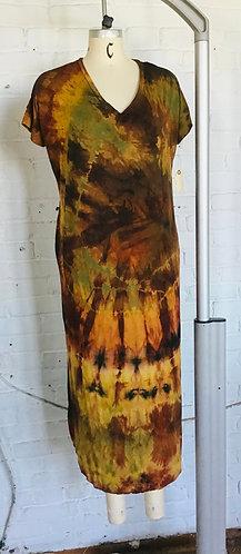 Large Maxi Dress w/pockets ( Fits 12-14) Free Shipping