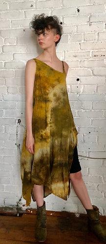 Large Fits 10-12 Cotton Asymmetrical  Dress Handkerchief  Hem