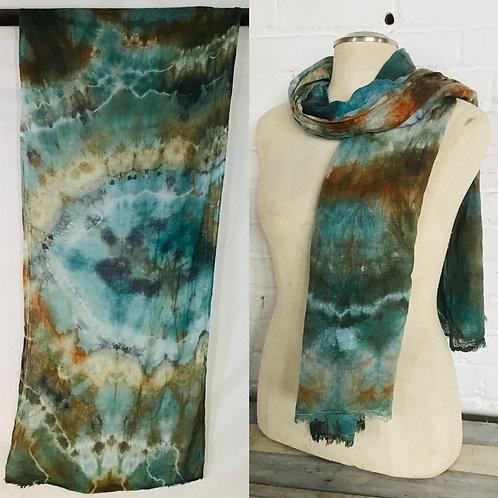 Summer Lightweight Linen Wide Straight scarf