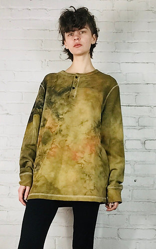 Large Unisex Henley Thermal