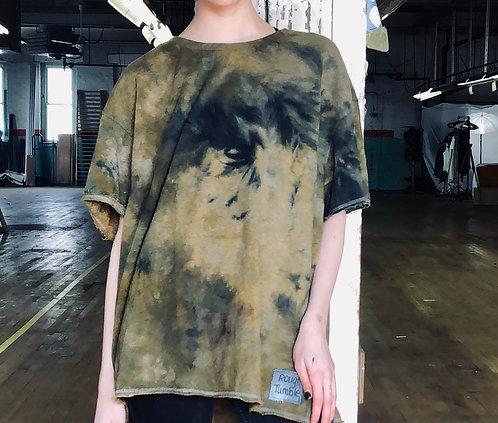 Large boxy Lightweight Sweatshirt T-shirt