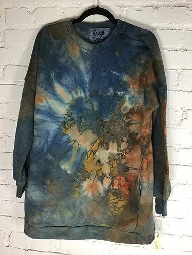 XLarge Oversized Tunic Sweatshirt w/pockets