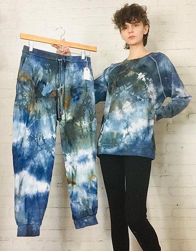 XLarge Cotton Sweatsuit Set (Top&Drawstring Bottoms)