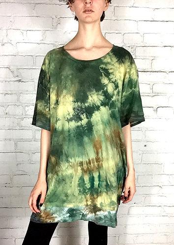 XXLarge Layered Tunic Cotton T-shirt