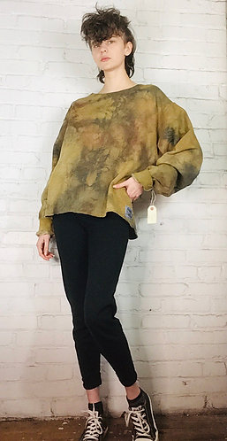Large Deconstructed Sweatshirt