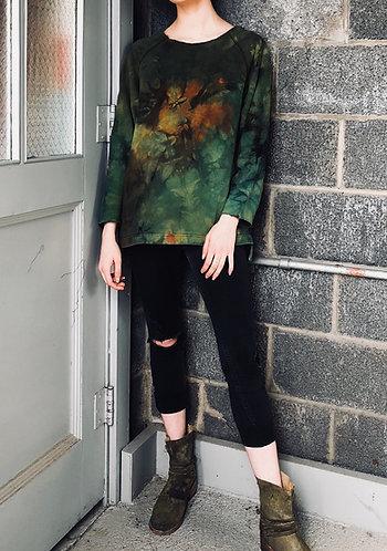 Small - Medium Deconstructed Sweatshirt
