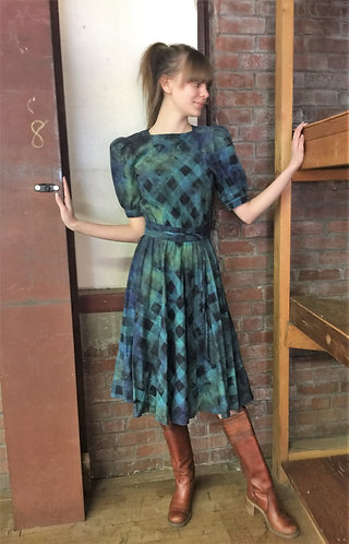 1980 Vintage Cotton Sm Dress