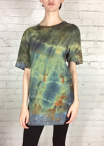 Small Layered Tunic Cotton T-shirt