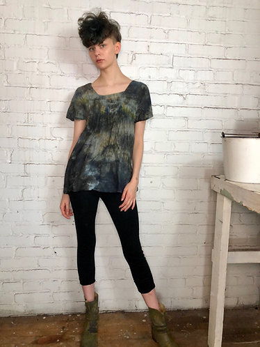 Small Lightweight Cotton Pleated Top
