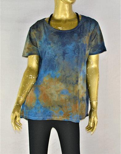 Cotton Crew Neck T-Shirt- Size Medium