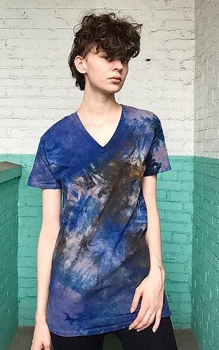 XSmall Cotton V-Neck T-Shirt