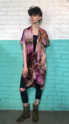 One Size (0-PLUS) Woven Kimono