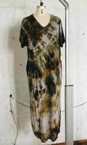 XLarge Maxi Dress w/pockets  ( fits 16-18