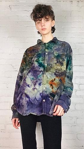 Large Unisex Flannel Shirt