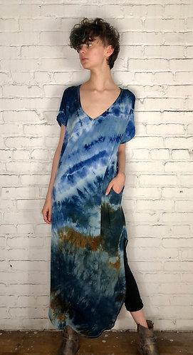 Large Maxi Dress ( Fits 12-14) Free Shipping