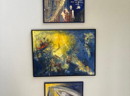 Triptychon im Haus Lukanien     Schöpfung: Leben - Tod - Ewigkeit
