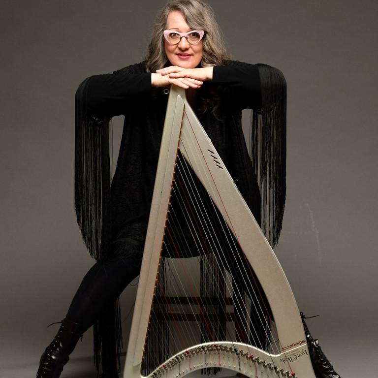 Celtic Music School - Harp Class with Sharlene Wallace