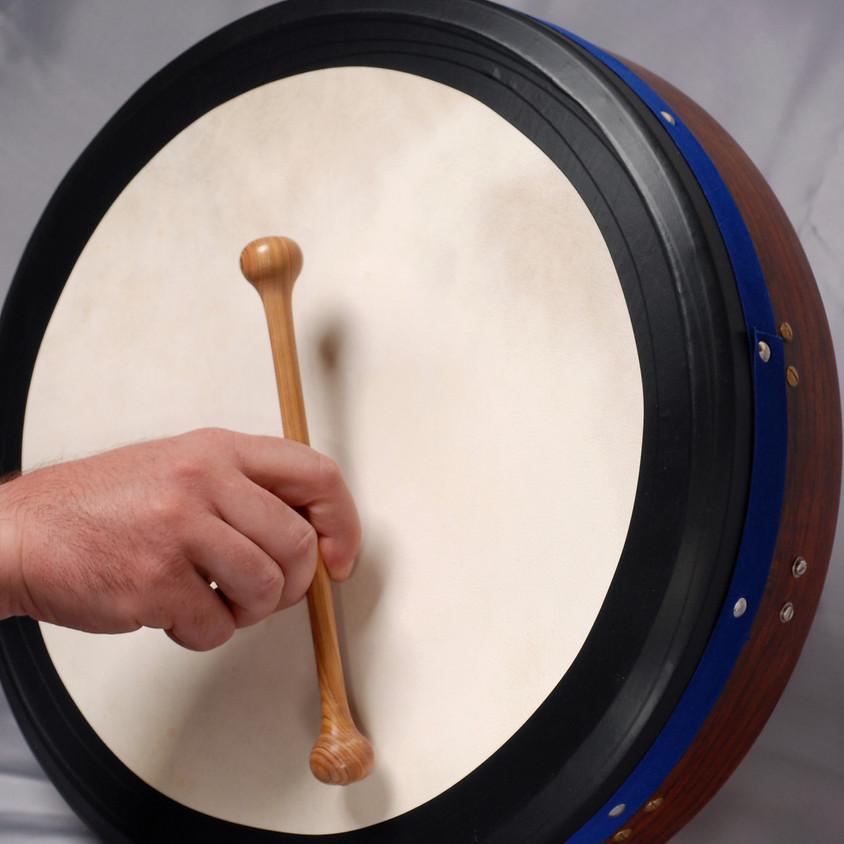Celtic Music School - Intro to Bodhran with Les Starkey