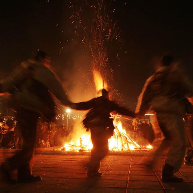 The Irish Hallowe'en Celebration:  Samhain
