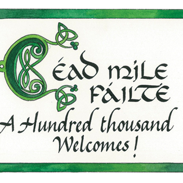 Irish Gaelic Simple Phrases Class